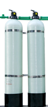 Cột lọc thô composite đầu nguồn  (lọc cho nguồn nước nhiễm phèn)